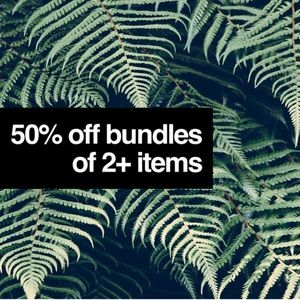 Other - 50% Off All Bundles Of 2+ Items LIMITED TIME SALE